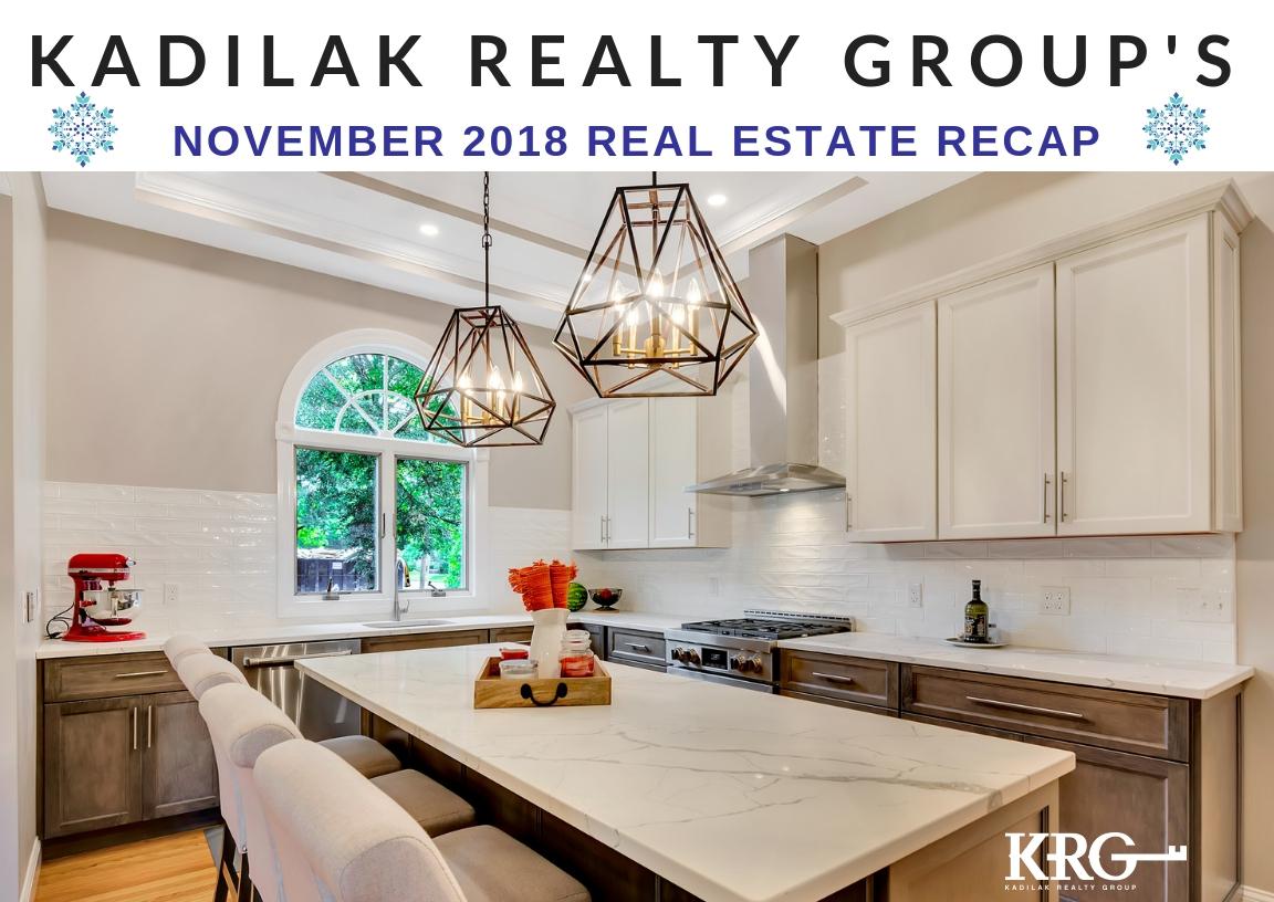 November 2018 Real Estate Recap