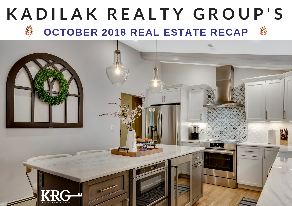 October 2018 Real Estate Recap